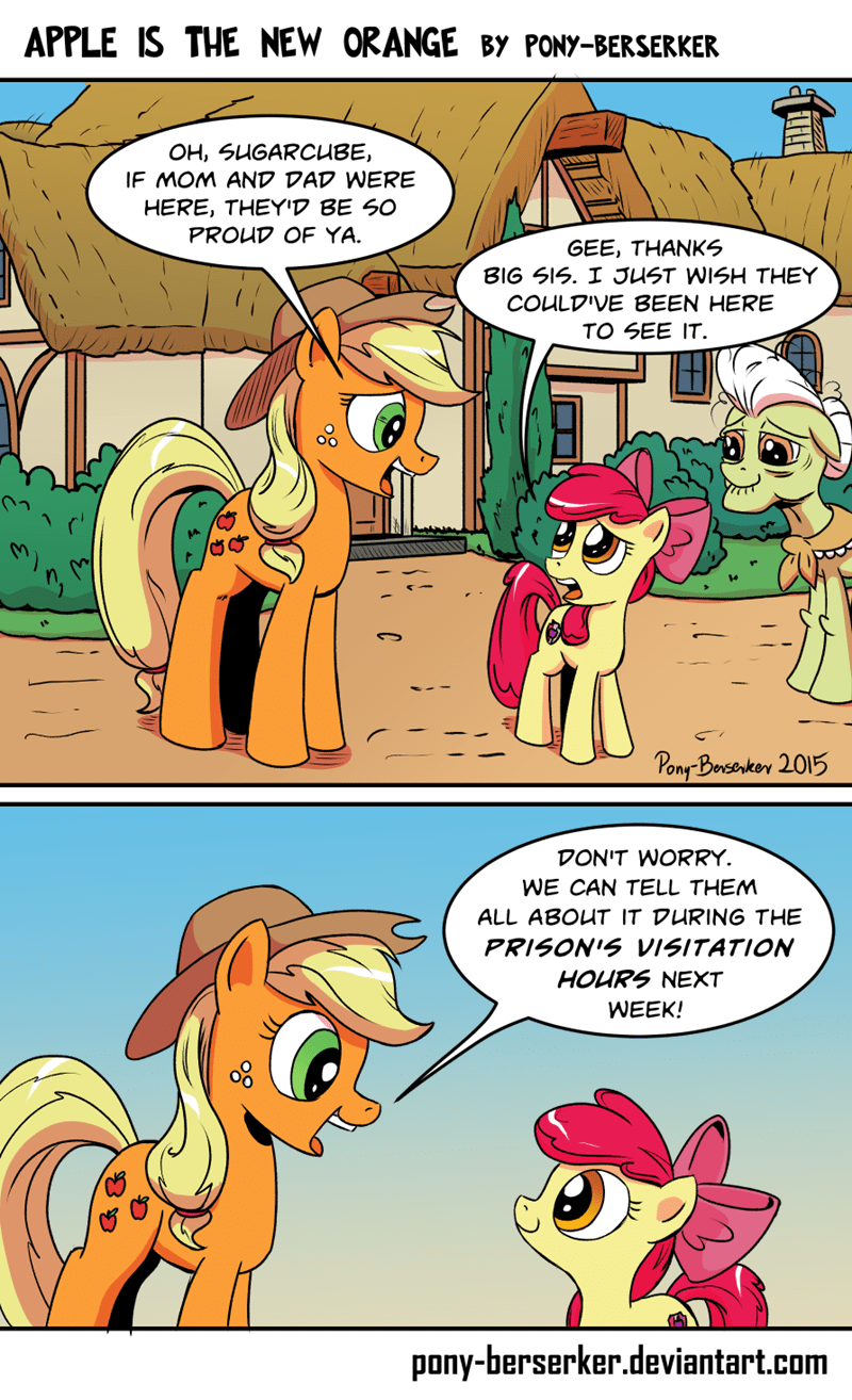 applejack apple bloom Fan Art - 8575895296