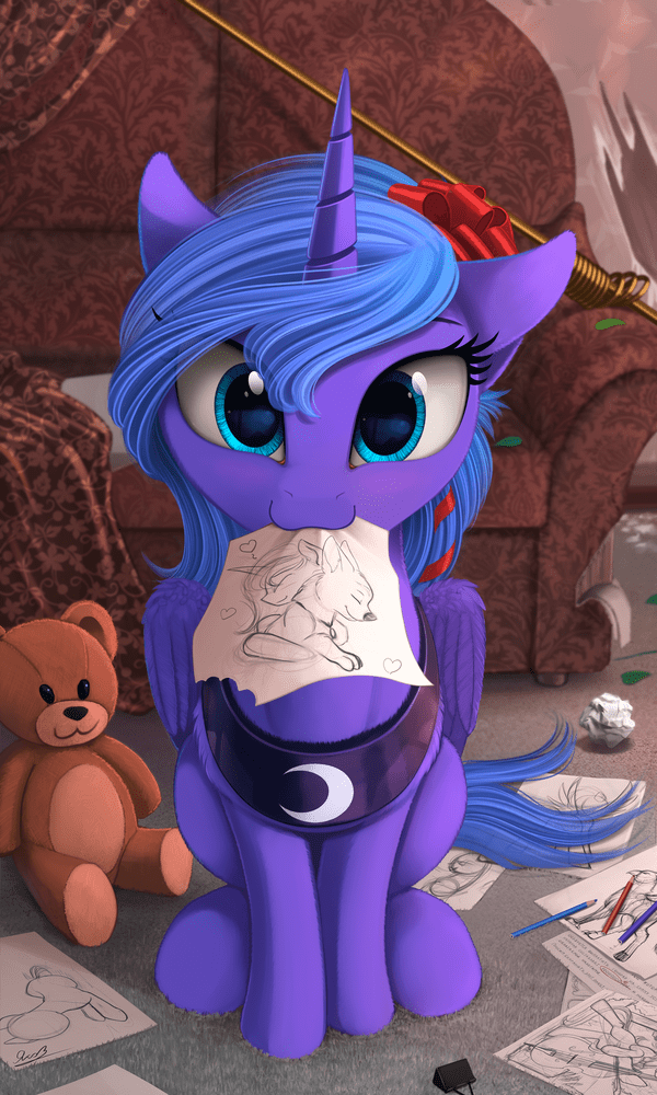 Fan Art luna - 8575896320
