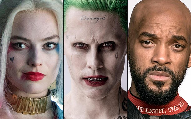 comics DC jared leto joker superheroes Harley Quinn suicide squad villains will smith deadshot margot robbie