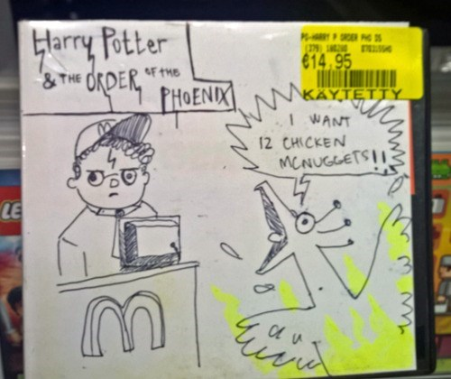 funny memes harry potter and the mcdonalds order of the phoenix