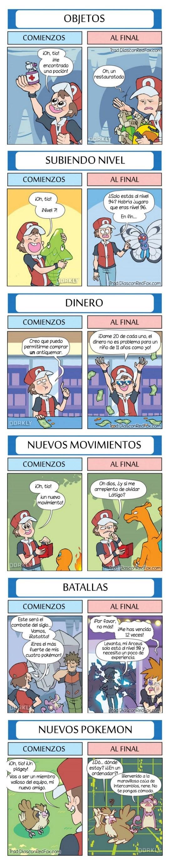 maestro pokemon