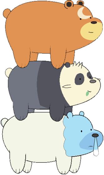 we bare bears crossover Pokémon - 8576267776