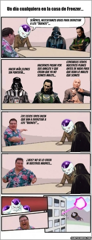 reunion de malos