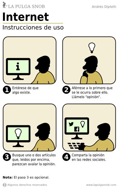 como usar internet