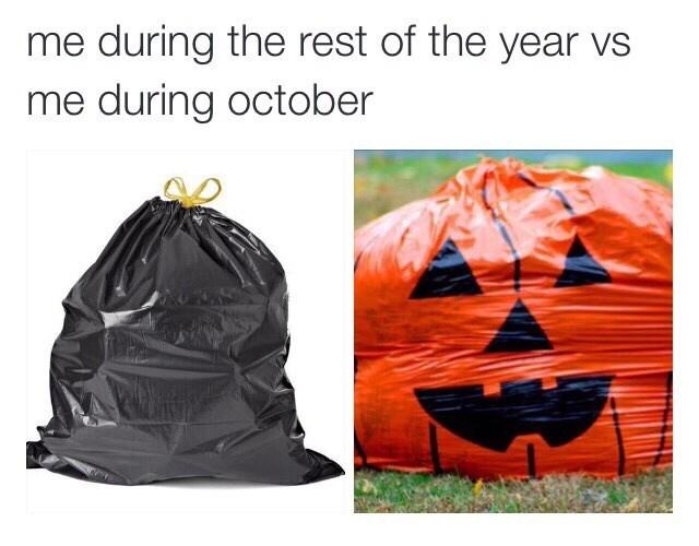 halloween memes trash