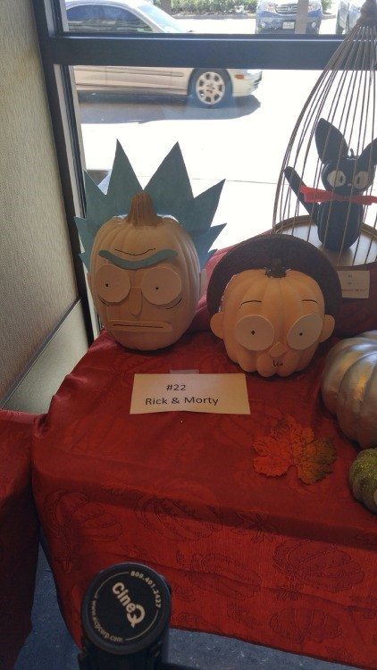 halloween memes rick and morty pumpkin