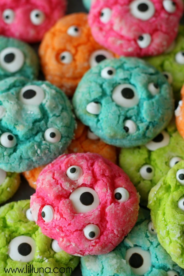 halloween memes monster eye cookies