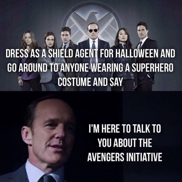 halloween memes agents of shield costume
