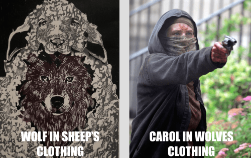 The Wolves Are Wishing They Never Ran Into Carol Peletier