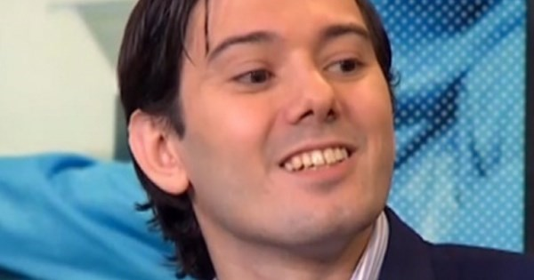 Loser of The Day: Martin Shkreli Fakes Fractured Wrist After Bernie Sanders Refuses Donation