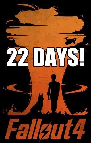 22 DAYS!
