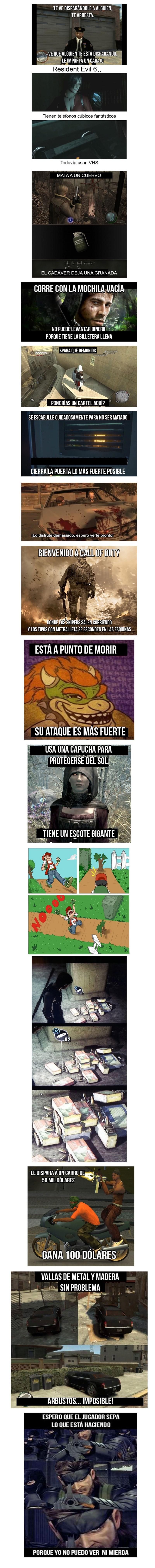 logica video juegos