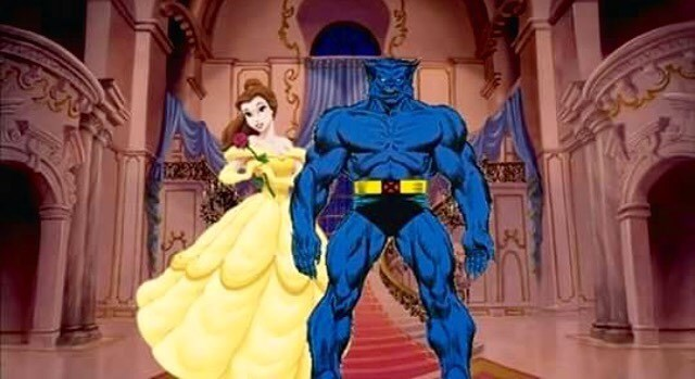 funny x-men beast A Tale as Old As Time