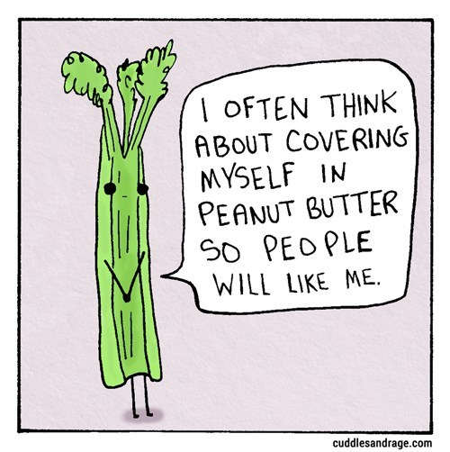 web comics celery That's Not a Bad Idea