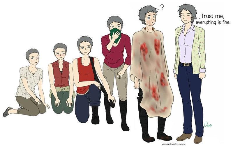The Evolution of Carol Peletier