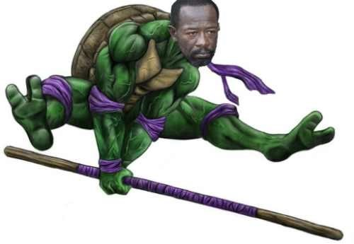 Morgan is Basically Donatello