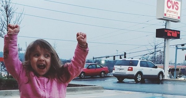 Celebration of The Day: Little Girl Loves Gets CVS-Themed Party Because She Loves The Store so Much
