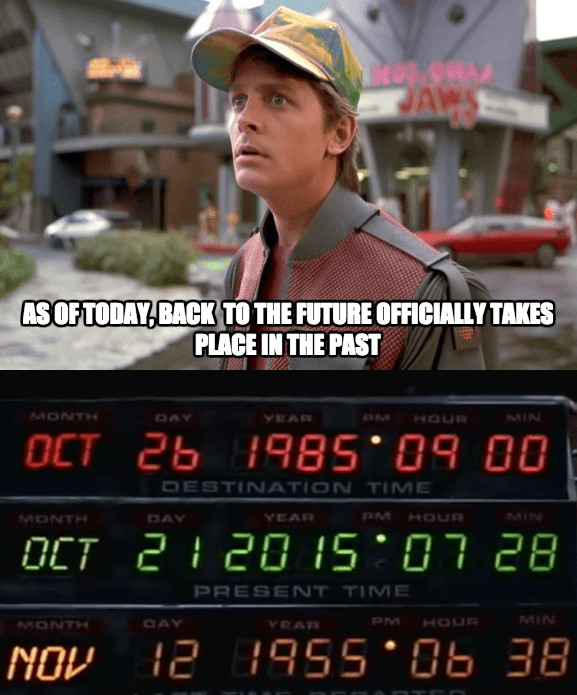 Happy Back To The Future Day Memebase Funny Memes