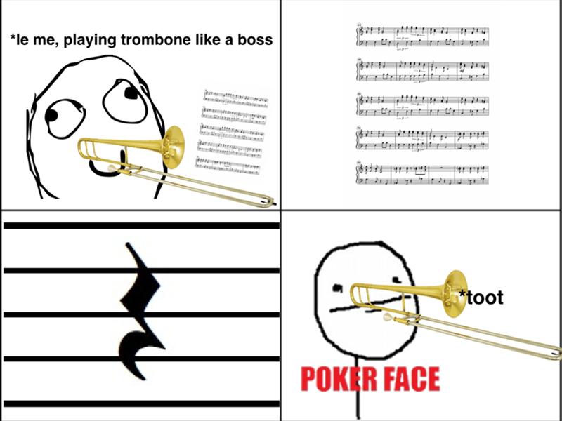 Music trombone band