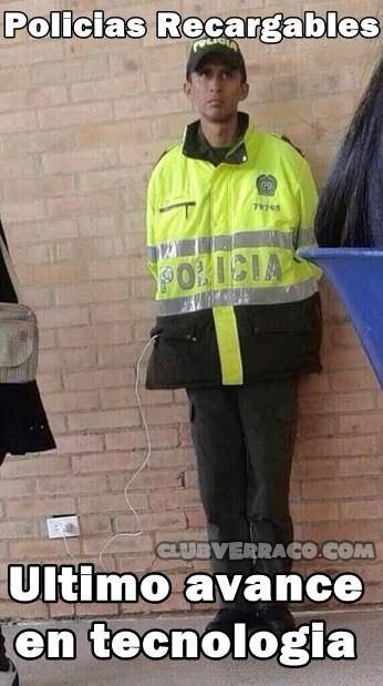 policia recargado