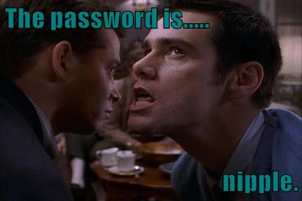 The password is.....  n*pple.