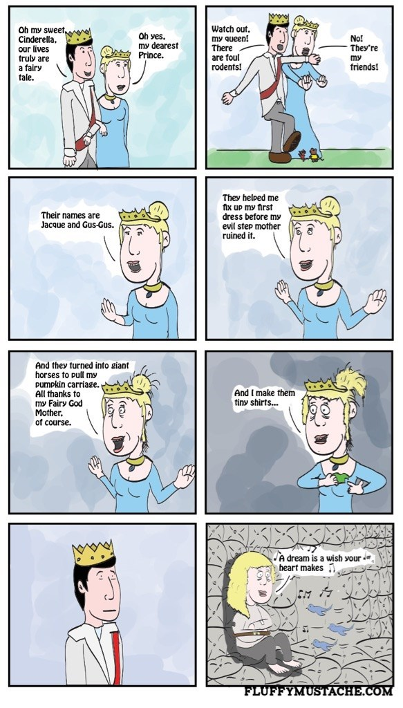 cinderella web comics There Are Some Things You Shouldn't Share