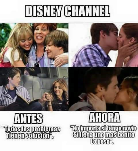 Disney antes y ahora