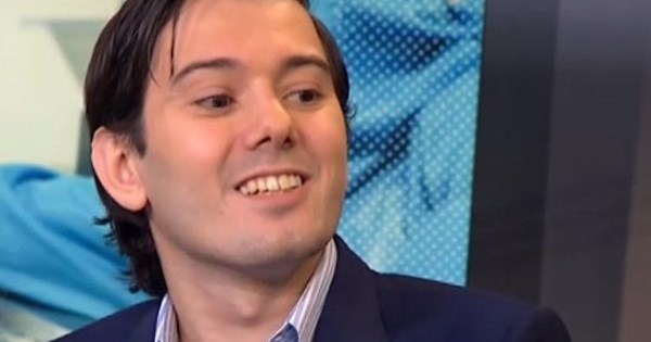 Karma of The Day: Drug Company Steps Up to Screw With Greedy CEO Martin Shkreli