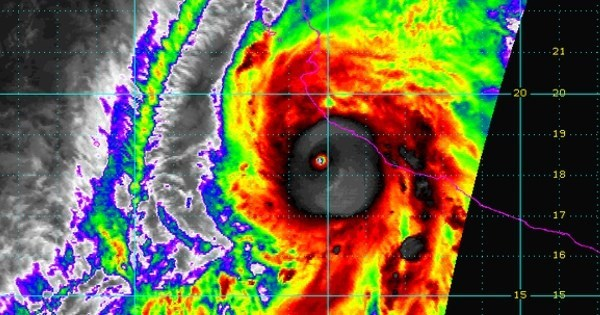 Weather of The Day: Mexico Braces For Most Powerful Hurricane Ever Recorded