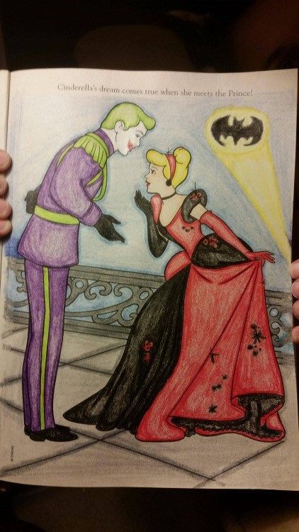 superheroes batman joker One Day My Prince Will Come