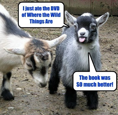 DVD,goats,books,funny,animals