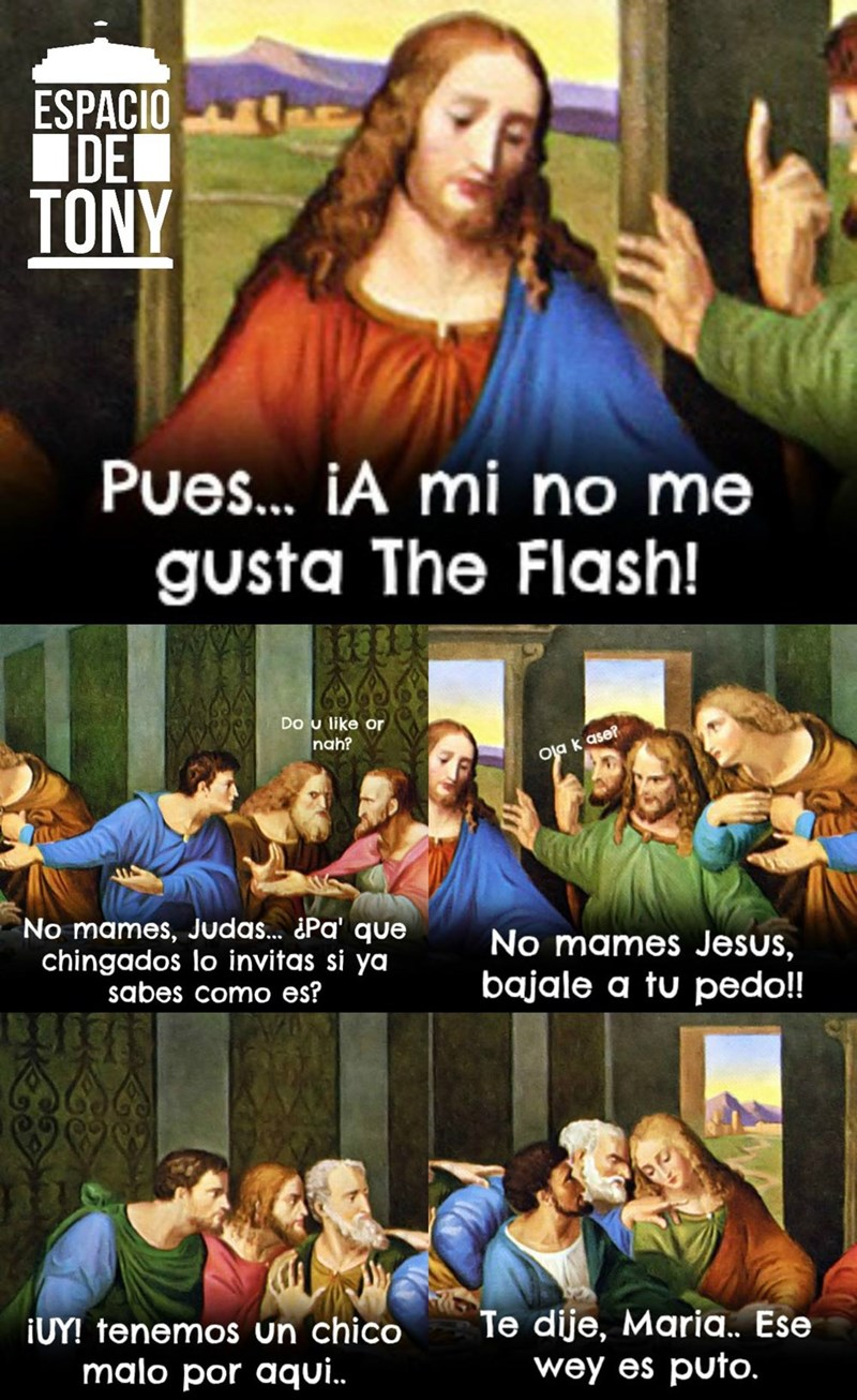 no me gusta the flash