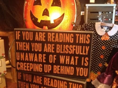 halloween memes creeping up behind you