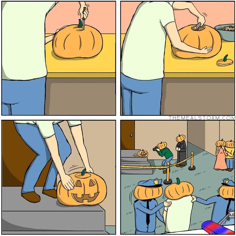 halloween web comics Spooky
