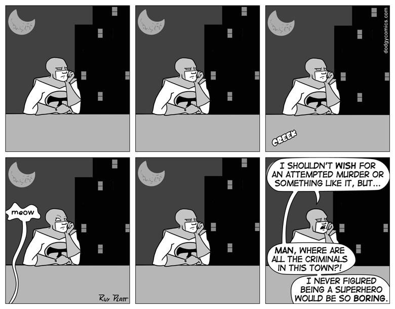 web comics reality superheroes The Life of a Real Superhero