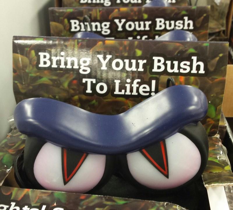 FAIL innuendo halloween decorations bush - 8579048448
