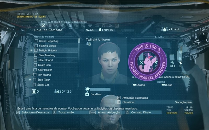 metal gear solid V twilight sparkle - 8579087104