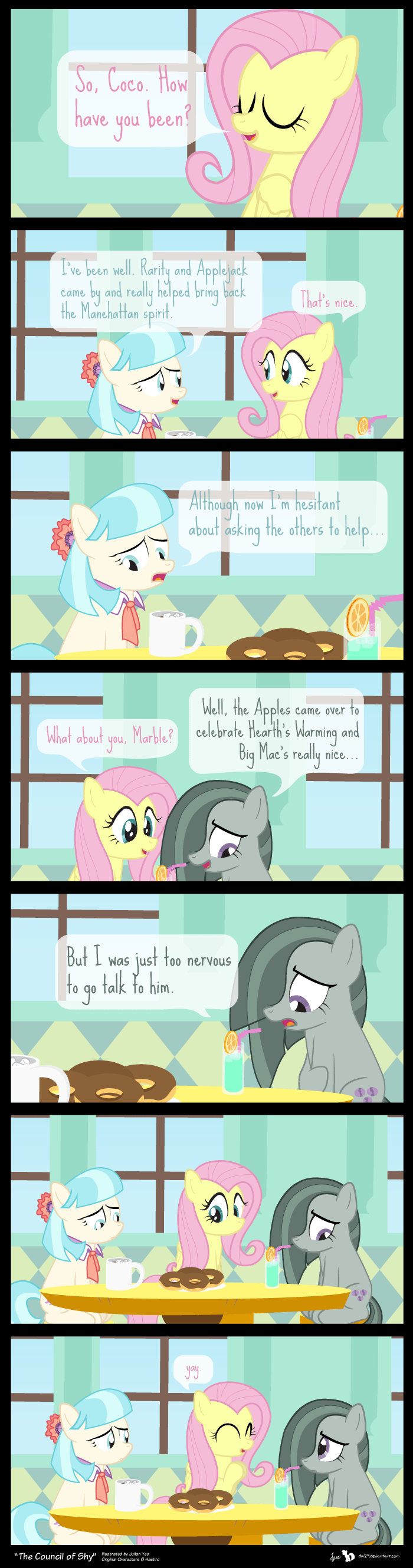 Fan Art fluttershy web comics - 8579275520