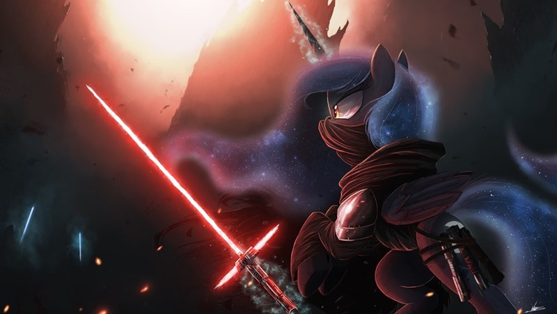 star wars Fan Art sith luna - 8579275776