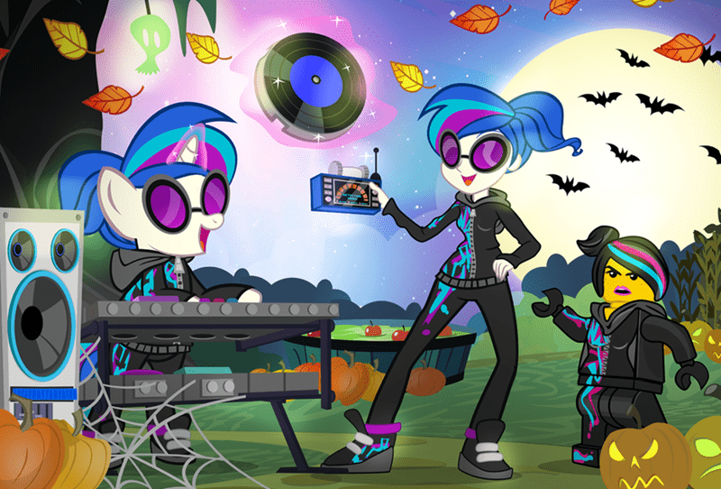 lego movie halloween dj PON-3 - 8579286016