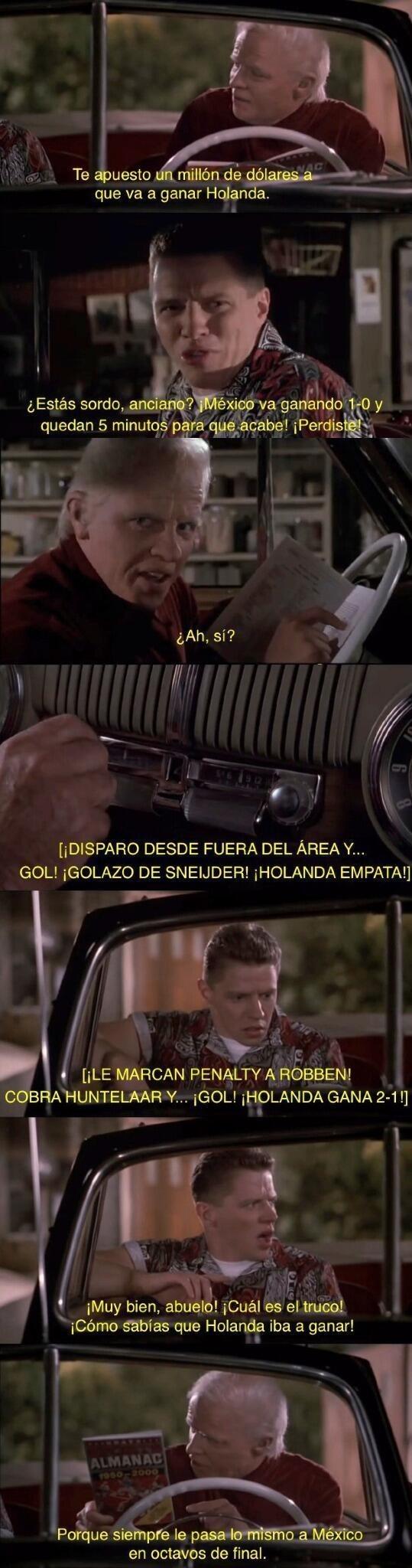 mexico holanda