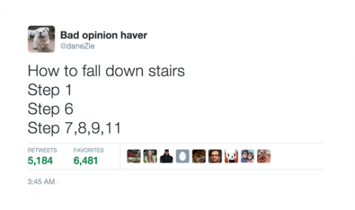 i warned you about stairs bro falling stairs - 8579425024