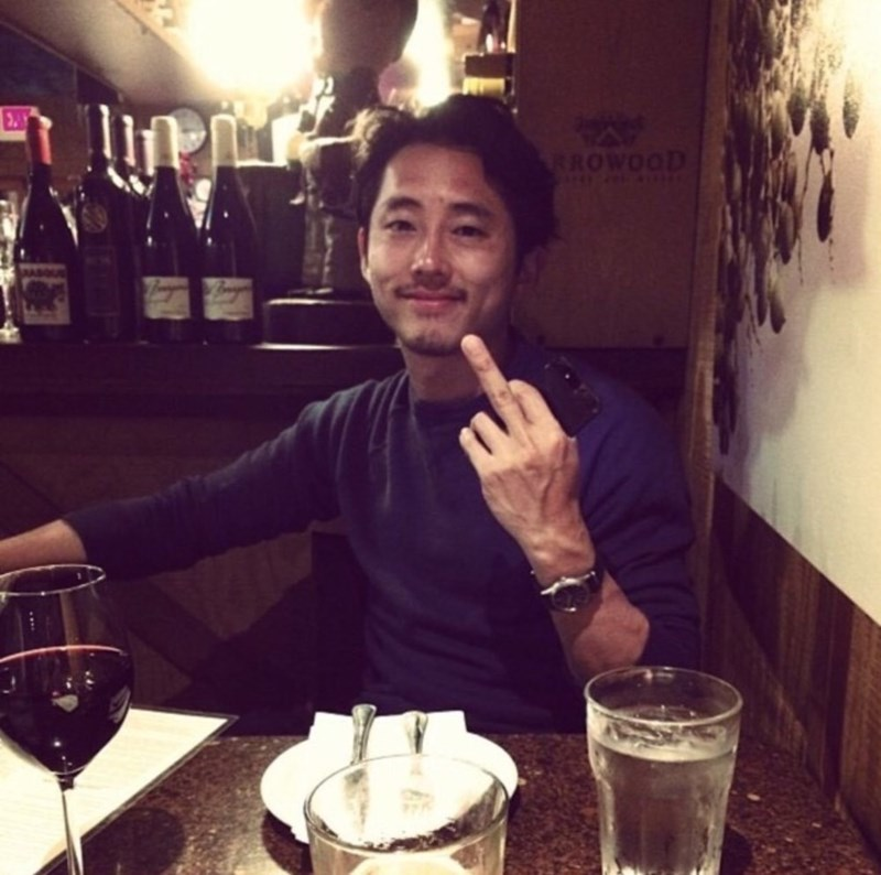 How Does Steven Yeun Feel Right About Now?
