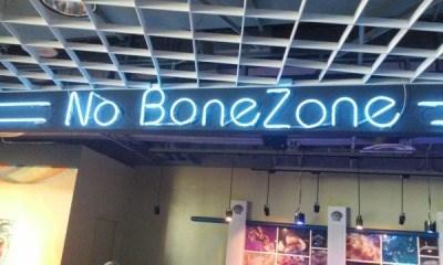 funny memes no bonezone sign