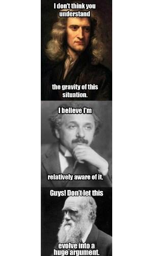 Evolution of an Argument