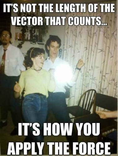Work that Vector!