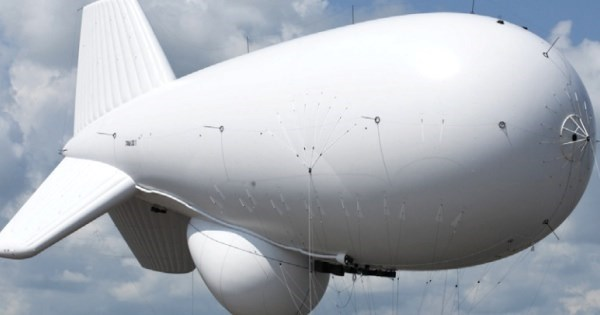 Whoops of The Day: A Giant Blimp is on The Loose Somewhere Over Pennsylvania