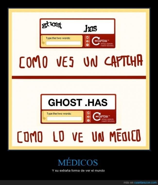 como lo ve un medico