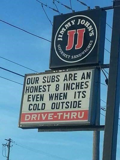trolling memes naughty jimmy johns sign
