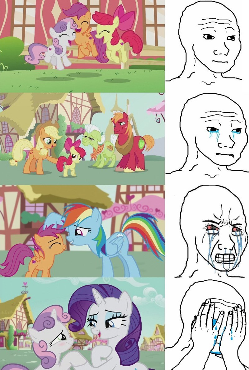 feels,cutie mark crusaders